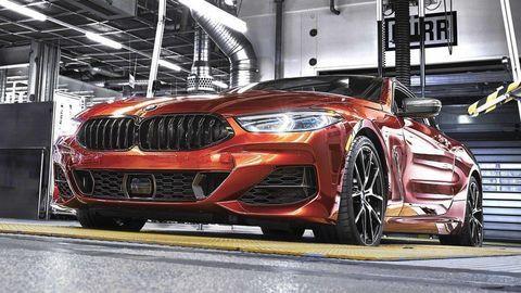 Osmičkové BMW Coupé práve začínajú vyrábať