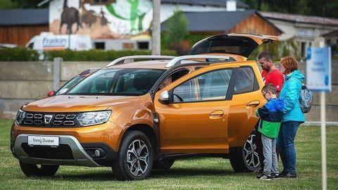 Dacia pozvala majiteľov na piknik
