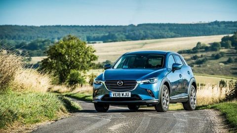 Vynovená Mazda CX-3 mieri na európsky trh, aj s motorom 1,8 Skyactiv-D