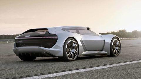 Superauto budúcnosti podľa Audi: jazdí na elektrinu a bez asistentov