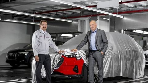 Prvé elektrické Audi už začali vyrábať