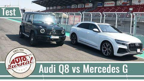 Spoznajte s nami silné a slabšie stránky noviniek  Audi Q8 a Mercedes-Benz G