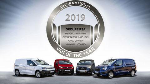 "Titul ""Van roka 2019"" získali štvoričky Peugeot, Citroen, Opel aVauxhall"