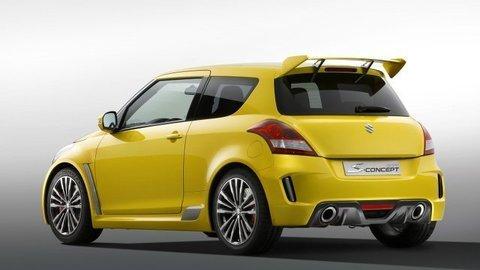 Tvary úplne nového Suzuki Swift naznačí divoký koncept pre Tokio