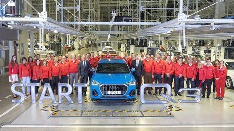 Nové Audi Q3 už vyrábajú vMaďarsku