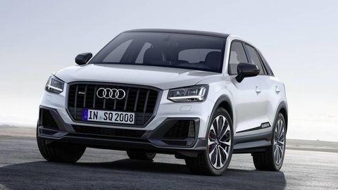 Športové Audi SQ2 je dobrý šprintér, stovku dosiahne pod päť sekúnd