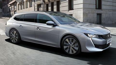 Peugeot ukázal kombi 508 SW s drevenou podlahou a hybridným pohonom