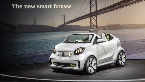 Jubilejný smart forease je symbol mestskej elektromobility