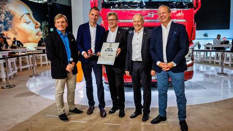 Odovzdali miliónte Volvo FH