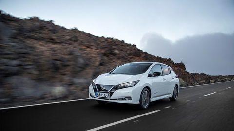 Každých 10 min 1 elektromobil Nissan