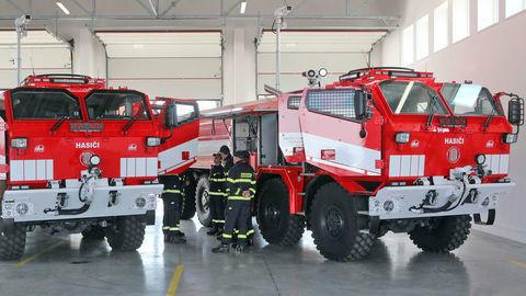 Pancierované hasičské špeciály