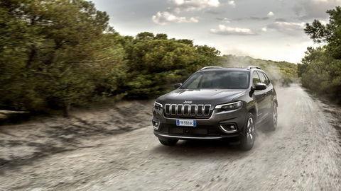 Jeep Cherokee: Očividne krajší