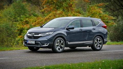 Honda CR-V 1.5 VTEC Turbo 2WD: Dlhé čakanie