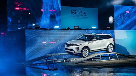 Nový Range Rover Evoque odhalili v Londýne