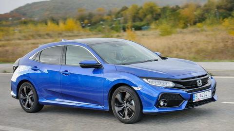 Honda Civic 1.6 i-DTEC 9AT: Diesel zo Swindonu