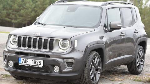 Modernizovaný Jeep Renegade je už tu