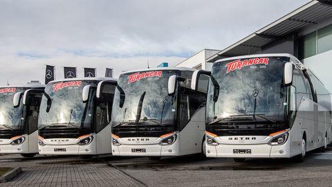 Tridsať autobusov SETRA pre Turancar