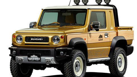 Zo Suzuki Jimny sa stal miniatúrny pick-up