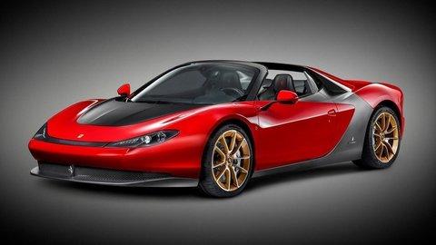 Extravagantný športiak Ferrari Sergio je hotový
