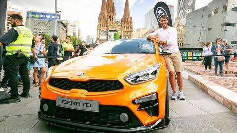 Kia sponzorom a prepravcom tenistov na Australian Open