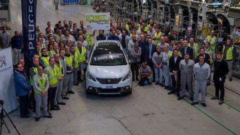 Miliónty Peugeot 2008 z Mulhouse