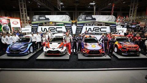 Továrenské tímy predstavili špeciály WRC pre sezónu 2019