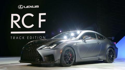 Športové kupé Lexus RC F a RC F Track Edition odhalené