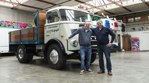 Päťdesiatročný DAF A1600 stále slúži