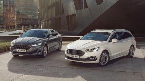 Vylepšený Ford Mondeo dostanete aj ako hybridné kombi