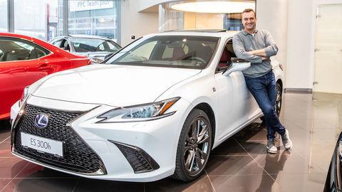 Prvý Lexus ES pre Marcela Forgáča
