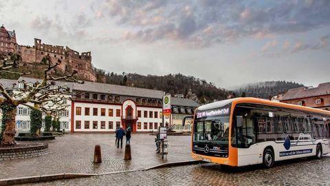 Prvú rýdzo elektrickú autobusovú linku zriadili v Heidelbergu