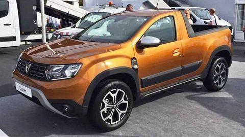 Dacia ponúkne Duster pick-up širším masám