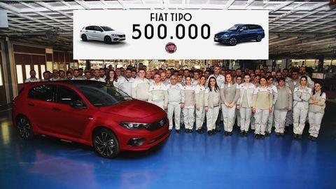 FIAT Tipo produkčným míľnikom