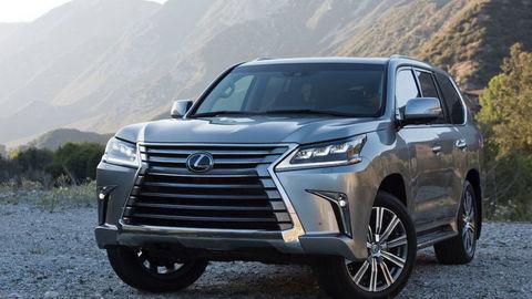 Lexus LX dostane hybridný pohon