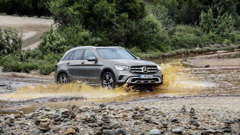 Mercedes-Benz GLC facelift: noví asistenti, nové motory a MBUX
