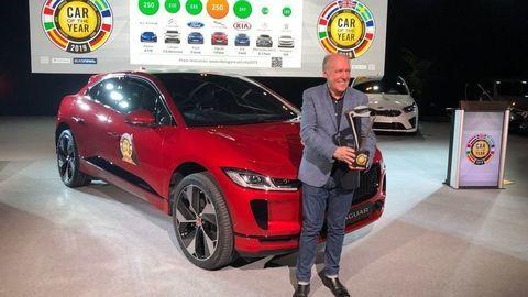 Titul európske Auto roka 2019 získal elektrický Jaguar I-Pace