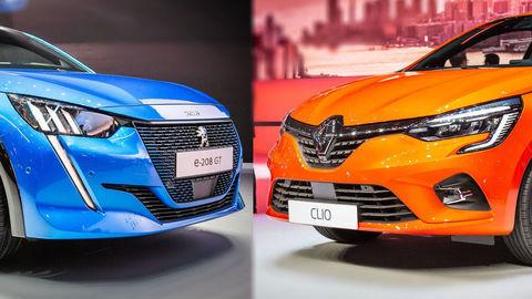 V Ženeve sme preskúmali nový Peugeot 208 a Renault Clio