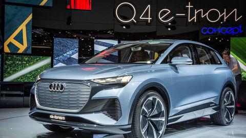 Audi sa riadne zahryzlo do elektriny