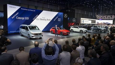 Mercedes vystavuje v Ženeve 6 svetových noviniek