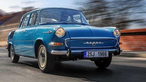 Škoda 1000 MB má 55 rokov