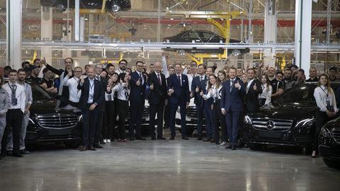 Mercedes-Benz začal vyrábať v Rusku