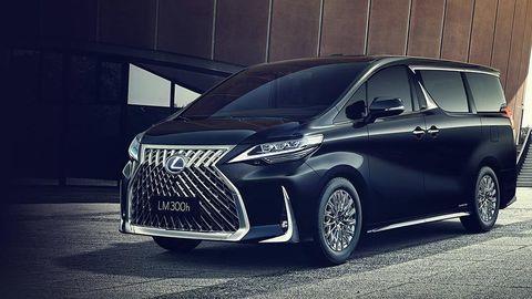 Lexus ukázal luxusný van, veľkosťou zodpovedá Multivanu