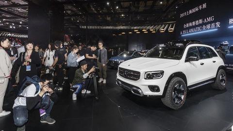 Mercedes GLB je najmenšie SUV s hviezdou