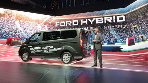 Ford Tourneo Custom plug-in hybrid: obor dopovaný trojvalcom
