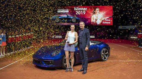 Petra Kvitová víťazkou Porsche Grand Prix v tenise