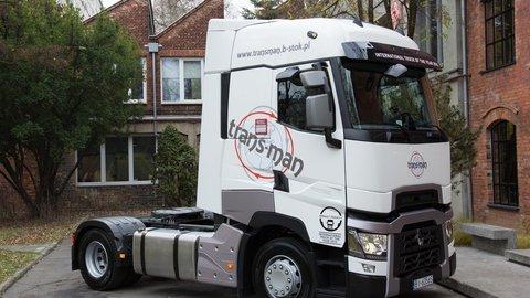 Jubilejný Renault Trucks T do Poľska