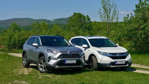Test SUV hybridov: Toyota RAV4 a Honda CR-V sú odlišné osobnosti