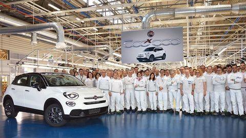 Fiat 500X zlomil produkčný rekord