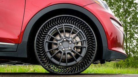 Michelin testuje pneumatiky bez vzduchu. Aké majú výhody?