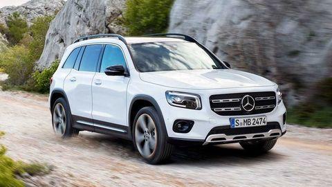 Nový Mercedes-Benz GLB 2019: Sedem miest a rodinné zameranie